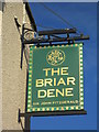 NZ3473 : The Briar Dene on The Links (road) Whitley Bay by Ian S