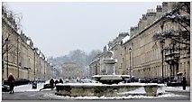 ST7565 : View east down Great Pulteney Street, Bath by Matthew Perks
