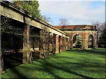 SE2955 : Outside the Sun Pavilion, Valley Gardens by Chris Heaton