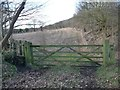 SE3104 : Gate and stile, at the former railway junction by Christine Johnstone
