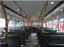 TQ2879 : Top Deck of the Boris Bus (as seen from the rear), Victoria Bus Station by David Anstiss