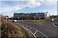 SU4416 : Multi-storey car park, Wide Lane by Peter Facey