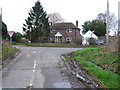 SY8787 : Road Junction at Binnegar by Nigel Mykura