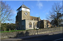 TQ7444 : St Michael & All Angels church, Marden by Julian P Guffogg