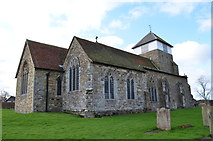 TQ7444 : St Michael & All Angels' church, Marden by Julian P Guffogg