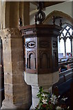 TQ7444 : Font, St Michael & All Angels' church, Marden by Julian P Guffogg