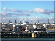 SU4604 : Fawley oil jetty by Alex McGregor