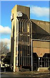 TQ2804 : The clock tower, Hove Town Hall by nick macneill