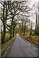 NY4577 : Road near Penton by David Liddle
