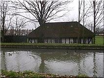 TQ3187 : Sports Pavilion, Finsbury Park by David Anstiss