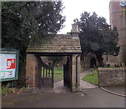 SO6302 : Lych gate, St Mary's, Lydney by Jaggery