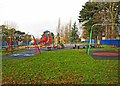 SO8275 : Children's Play Area, Brinton Park, Sutton Road, Kidderminster by P L Chadwick