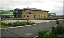 ST3140 : St John Ambulance premises north of Bridgwater by Robin Stott