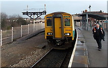 ST1166 : Changing ends at Barry Island railway station by Jaggery