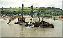 D3115 : Building Glenarm marina (2000-1) by Albert Bridge