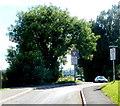 SO3204 : SW end of School Lane, Penperlleni by Jaggery