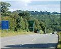 SO3103 : Dual carriageway ahead near Little Mill by Jaggery