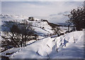 SD9772 : Snowdrift by the Coverdale road by Stephen Craven