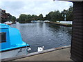 TG3018 : River Bure at Wroxham by Barbara Carr