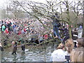 SK1846 : Royal Shrovetide in the Henmore Brook by John M