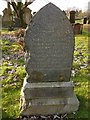 NS3477 : The gravestone of Robert Muirhead by Lairich Rig