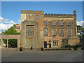 SK4033 : Elvaston Castle courtyard by Trevor Rickard