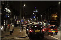 TQ2775 : St. John's Hill at Night by Martin Addison