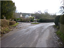 ST7807 : Ibberton, road junction by Mike Faherty