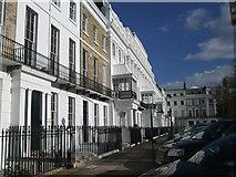 TQ3303 : Sussex Square, Brighton by Paul Gillett