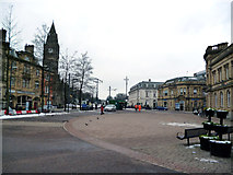 SD8913 : Rochdale:  Town Centre looking west by Dr Neil Clifton