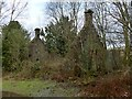 NS3478 : Remains of the West Lodge by Lairich Rig