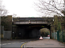 TQ3060 : Railway over Old Lodge Lane (2) by Stephen Craven