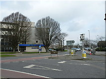 SU8605 : Looking from North Street onto the Festival Theatre Roundabout by Basher Eyre