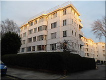 TQ2784 : Art deco flats on Englands Lane by David Howard