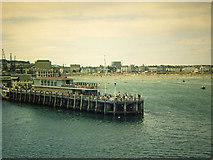 SY6878 : Pleasure Pier, Weymouth by David P Howard