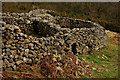 NY1701 : Sheepfold at Boot, Cumbria by Peter Trimming