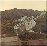 SS3124 : Cottages at Clovelly by Peter Shimmon