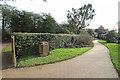 TQ3398 : Coronation Garden, Forty Hall, Enfield by Christine Matthews