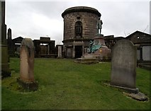 NT2674 : David Hume's tomb, Old Calton Burial Ground by Euan Nelson