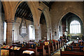 SK7957 : Nave and north aisle, St Wilfred's church by J.Hannan-Briggs