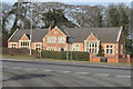 SK8074 : The Old Dunham National School by J.Hannan-Briggs