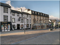 NY2623 : Keswick, King's Arms and Skiddaw Hotel by David Dixon