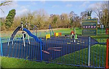 SO8475 : Heronswood Road Play Area, Spennells, Kidderminster by P L Chadwick