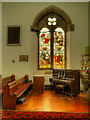 NY7146 : Stained Glass Window, St Augustine's Church by David Dixon