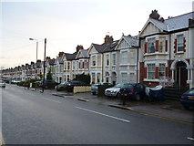 TQ2473 : Terraced housing, Wimbledon Park Road SW18 by Robin Sones
