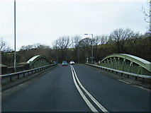 SD6872 : A65 crossing New Bridge, Ingleton by Colin Pyle