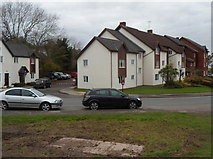 ST5393 : Restway Wall flats, Chepstow by Jaggery