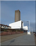 SJ3290 : Ventilation tower by Richard Hoare
