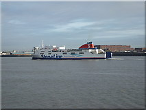 SJ3290 : Stena Lagan by Richard Hoare