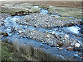 NY3036 : Dale Beck flowing downstream by Trevor Littlewood
